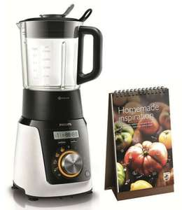 philips standmixer mit kochfunktion avance collection hr2091 30 f suppen smoothies saucen usw. Black Bedroom Furniture Sets. Home Design Ideas