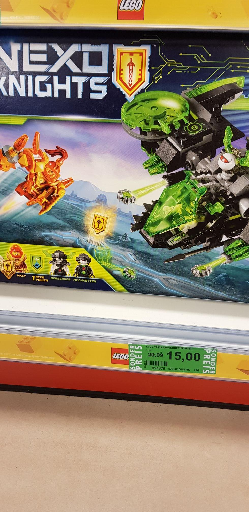 [Lokal] Nürnberg Rossmann Lego Nexo knights