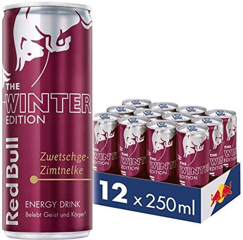 (Amazon Prime ) Red Bull Zwetschge-Zimt Dosen Getränke Winter Edition (12 x 250 ml)  95Cent/Dose