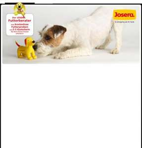 Josera Futterprobe für den Hund