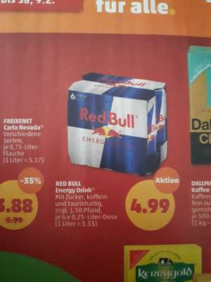 [Penny] 6er Red Bull Energy Drink (ca. 0,83 Euro/Dose)