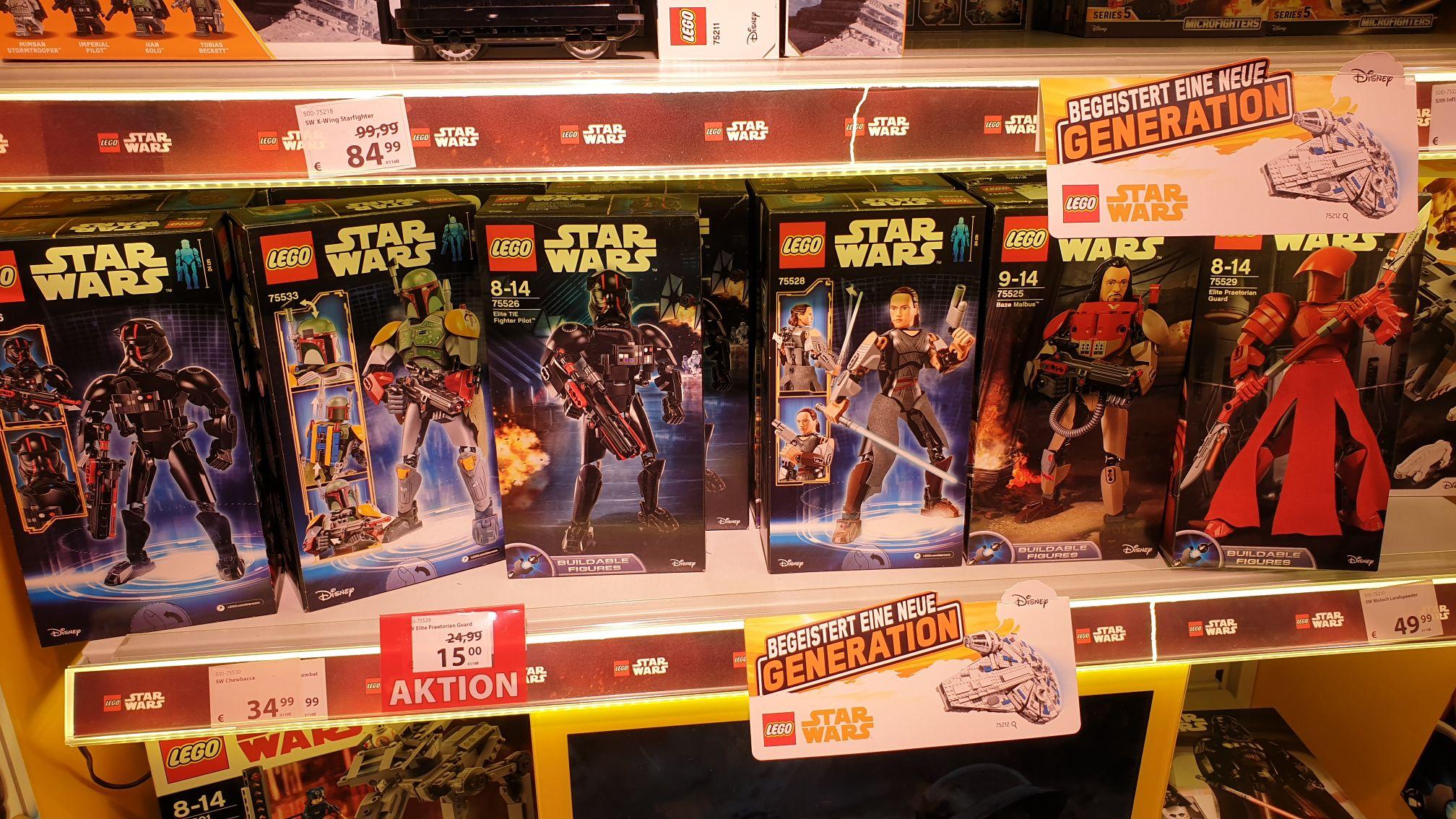 [Lokal Wiesbaden/Wallau] Lego Star Wars Aktionfiguren im Spiele Max