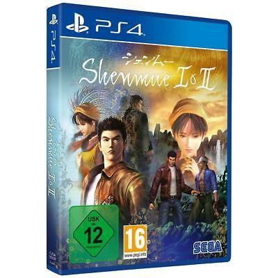 Shenmue I & II 1 und 2 für Sony PS4 Spiel Playstation 4 NEU&OVP