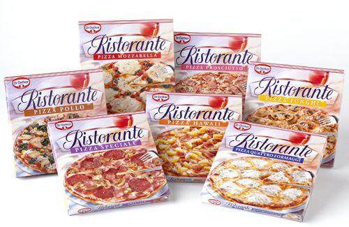Dr. Oetker Ristorante Pizza verschiedene Sorten