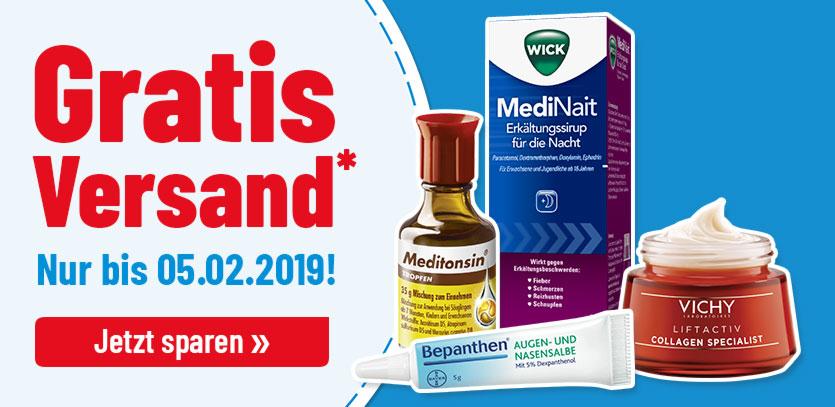 Gratis-Versand + Heruntergesetzte Artikel [MyCare.de] Paracetamol 1A 500mg 20Stk