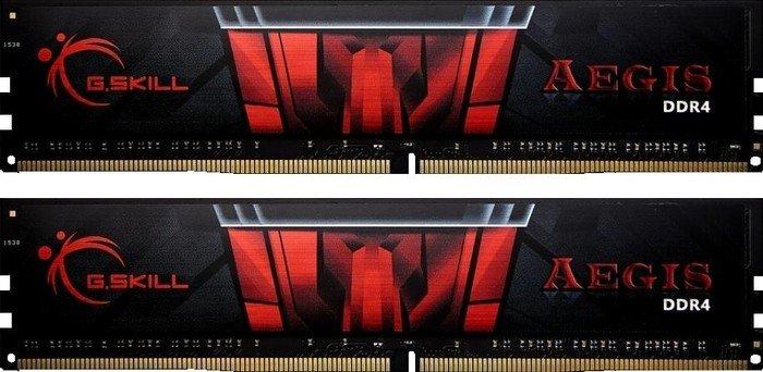 G.Skill Aegis DIMM Kit 16GB (2x 8GB Kit, DDR4-3000 RAM, CL16-18-18-38) für 78,89€ [computeruniverse]