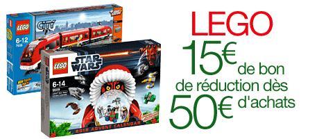 [amazon.fr] 15 Euro Lego-Gutschein bei Kauf von Lego über 50 Euro, bspw. 2x Lego Star Wars Adventskalender (und Füllartikel) für ca. 62 Euro minus 15 Euro Gutschein