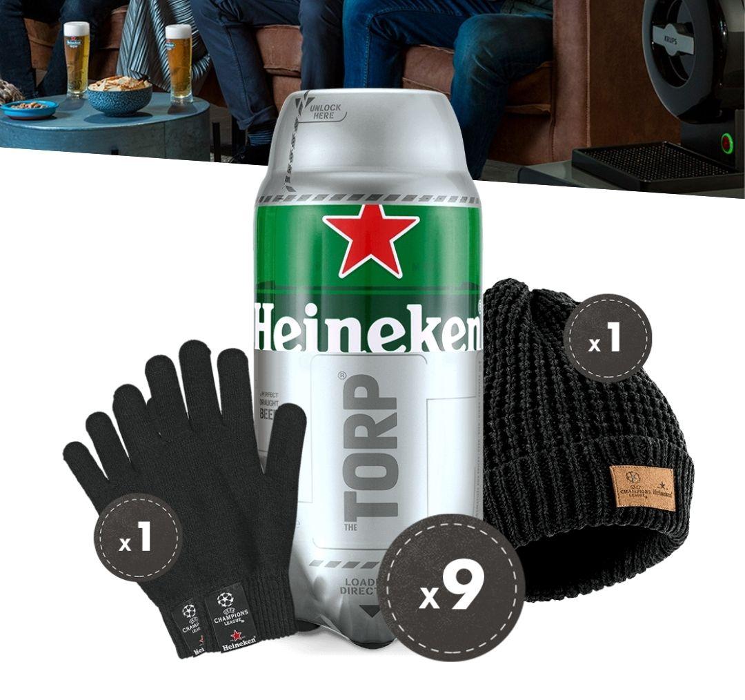 "9 x Heineken Torp ""Match Night Bundle"""