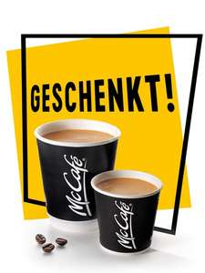 [McDonald's Schweiz und Liechtenstein] An jedem 1. Montag im Monat einen Cafe creme oder Espresso umsonst