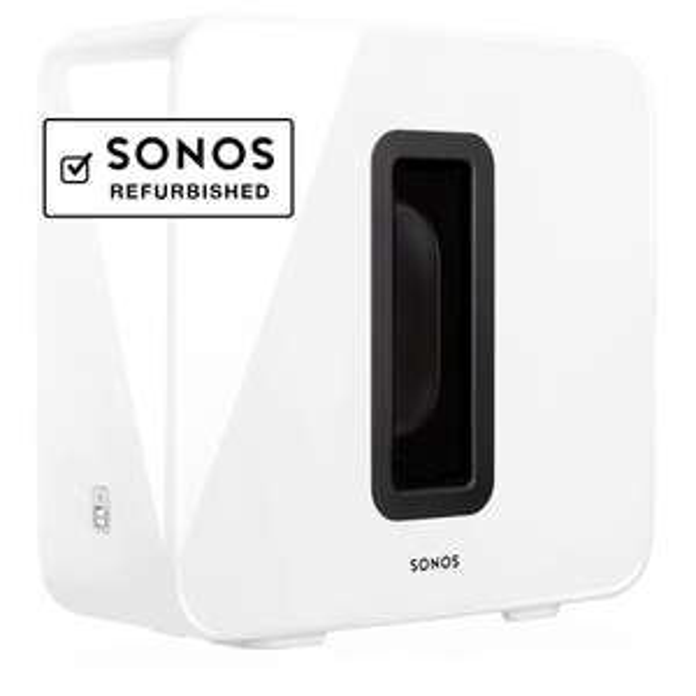 Sonos Sub – generalüberholt (schwarz & weiß)