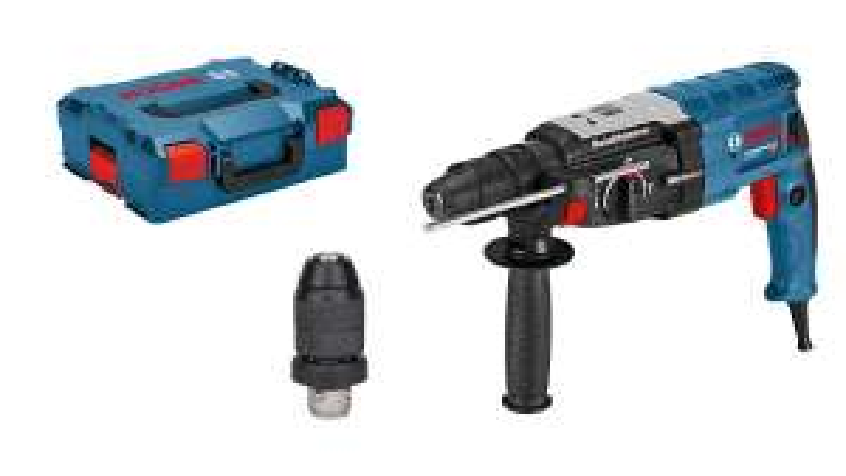 Bosch Professional Bohrhammer GBH 2-28 F ,SDS-plus, in L-Boxx Systemkoffer und Wechselfutter