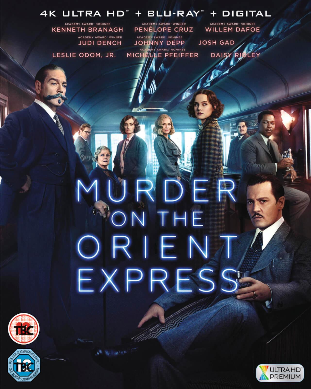 Mord im Orient-Express (4K Blu-ray + Blu-ray) für 14,51€ (Zavvi)