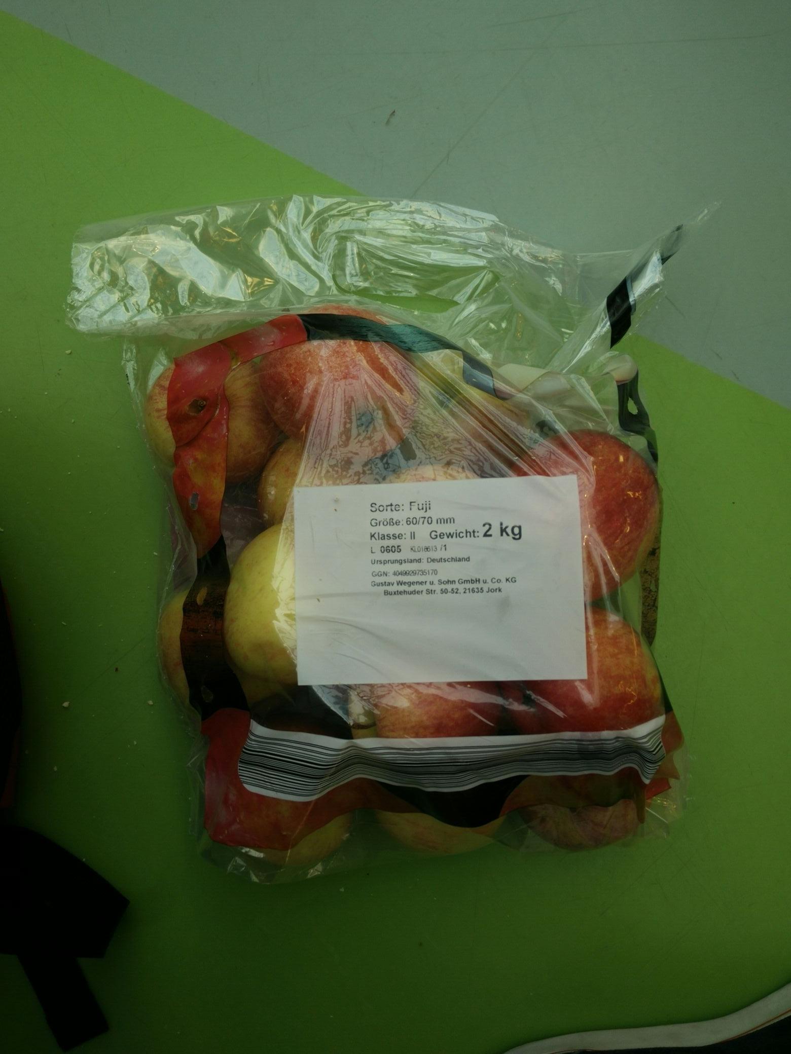 Aldi Süd 2kg Äpfel
