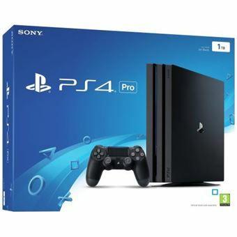PlayStation 4 Pro Konsole - 1TB + 3 Monate Deezer kostenlose (Fnac.fr)