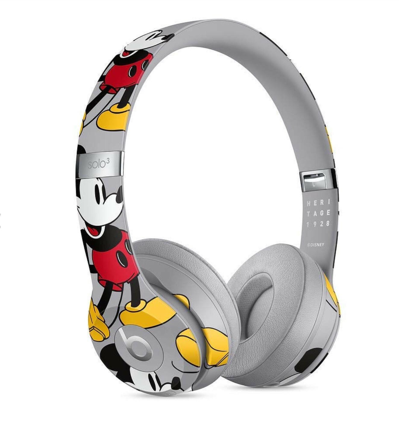 Beats Solo 3 Wireless Mickeys-90th-Anniversary
