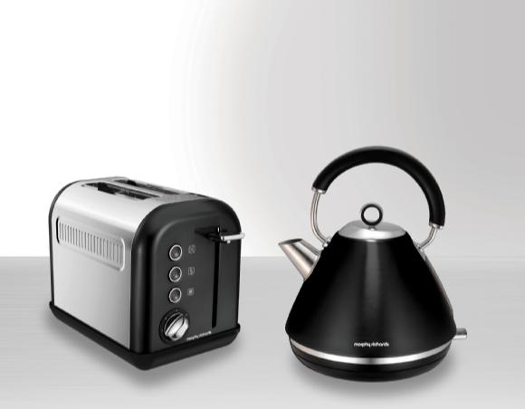 set aus wasserkocher und toaster von morphy richards. Black Bedroom Furniture Sets. Home Design Ideas