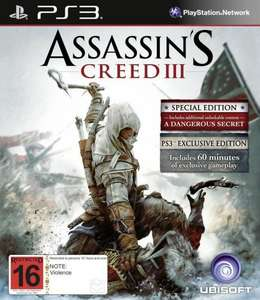 Assassins Creed 3 (Bonus Edition) + Extra Missionen für 39€ PS3 - Saturn Jena