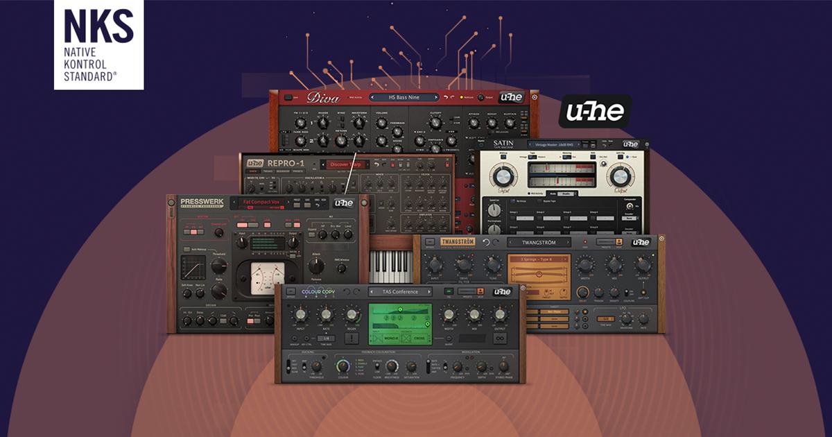 U-HE COLLECTION (mit DIVA, REPRO und mehr) im Native-Instruments Sale