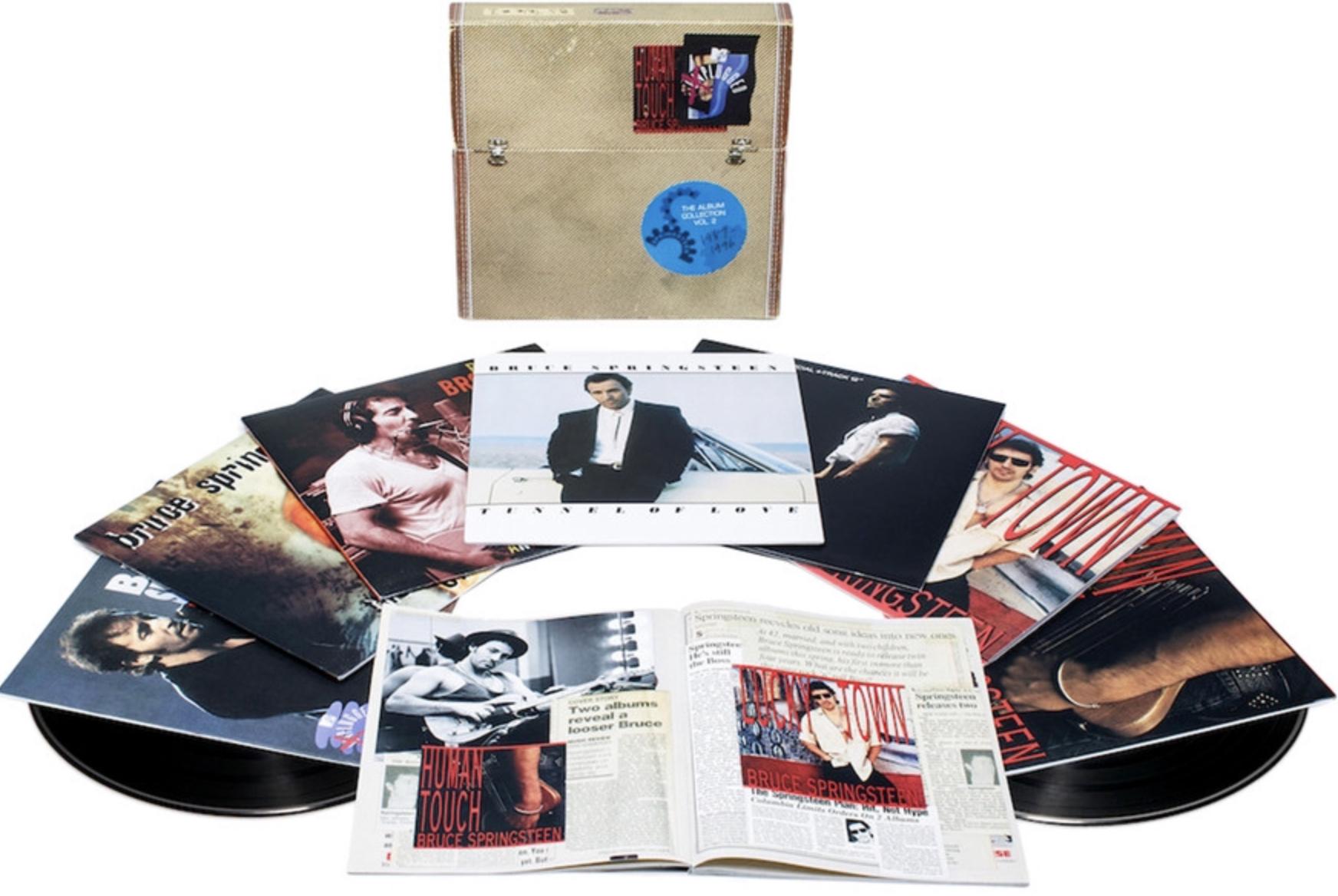 Bruce Springsteen - The Vinyl Album Collection Vol. 2, 1987-1996 10 LPs für 106,52€ inkl. Versandkosten [AmazonFR]