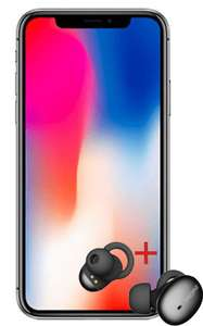 iPhone X (64GB) + Wireless Bluetooth In-Ears + Tracker im Vodafone Smart L+ (auch Young) mit 5GB LTE / 10GB LTE | auch mit iPhone XR oder mit iPhone 8 mit JBL Free X