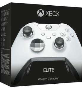 Xbox Elite wireless Controller weiß + Code für Forza Horizon 4 & Gears of War 4