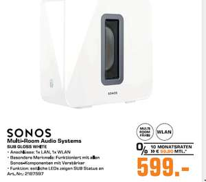 lokal saturn paderborn sonos sub wlan subwoofer f r. Black Bedroom Furniture Sets. Home Design Ideas
