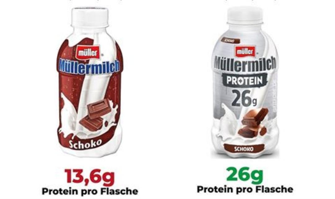 Müllermilch und Müllermilch Protein im Angebot bei Lidl