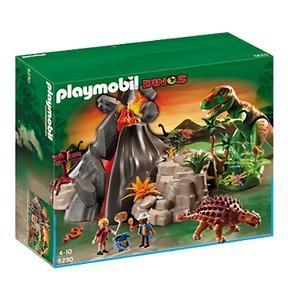 PLAYMOBIL z.B. T-Rex und Saichania beim Vulkan (5230) bei Galeria Kaufhof inkl. VK + 10% Gutschein + 12% Quipu