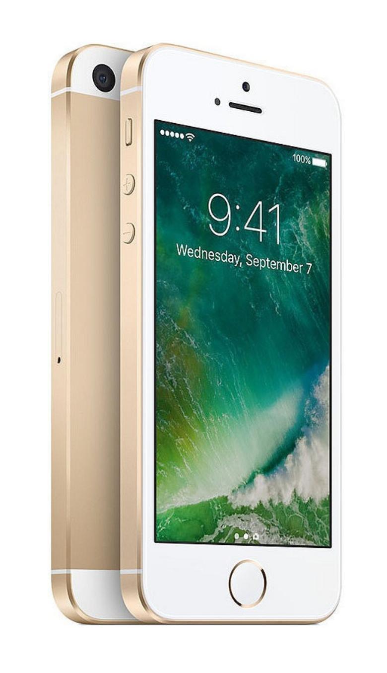 "Apple iPhone SE 128GB/2GB Gold EU [10,16cm (4"") Retina Display, iOS 10, A9, 12MP]"