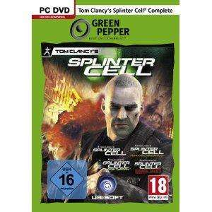 [PC-Spiele] Splinter Cell - Complete [Green Pepper] - 6,95€
