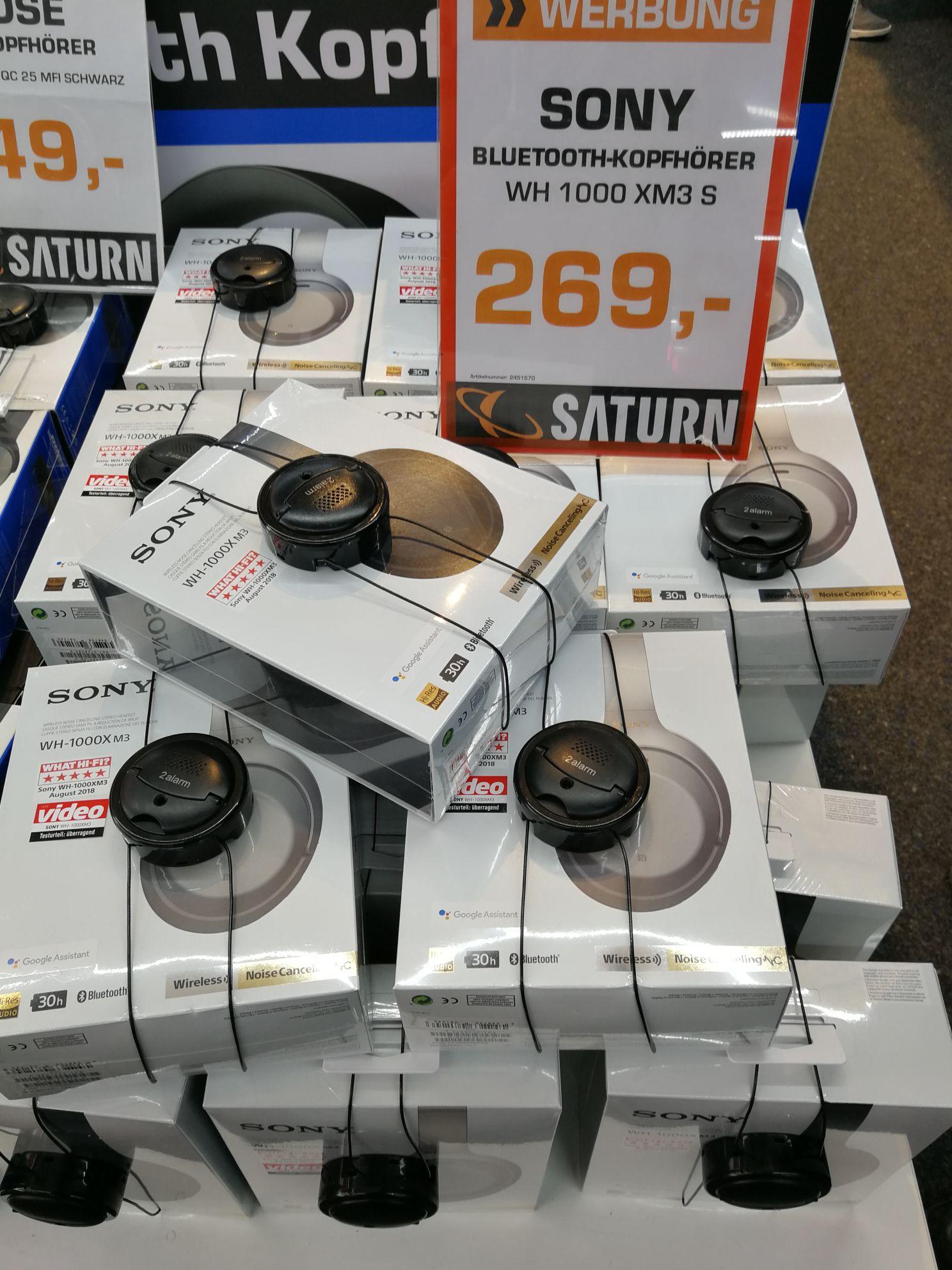 Lokal, Saturn Hannover, Sony Wh-1000xm3 in Silber und schwarz