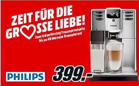 [Mediamarkt]  PHILIPS EP5365/10 5000, Kaffeevollautomat, 1.8 Liter Wassertank, 15 bar, Edelstahl für 399,-€
