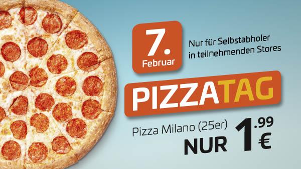 [Lokal: Leipzig Südvorstadt, Magdeburg Neue Neustadt, Halle Heide-Süd, Merseburg Preußerstraße] Uno Pizza Milano(S) 1,99 € Selbstabholung