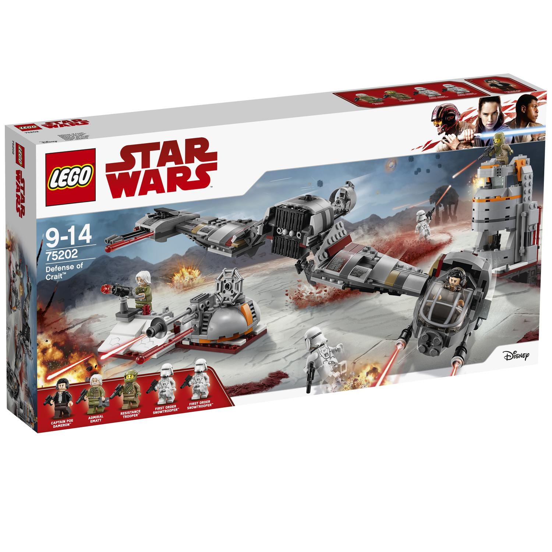 LEGO Star Wars 75202 und weitere Sets 75204, 75195, 60166, 75201, 75197 zum guten Kurs