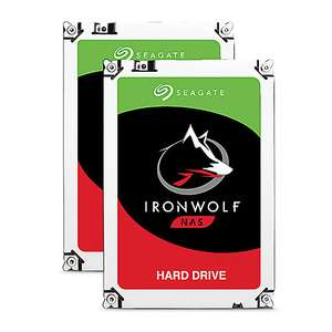 [Cyberport] Seagate 2er Set IronWolf NAS HDD 6TB