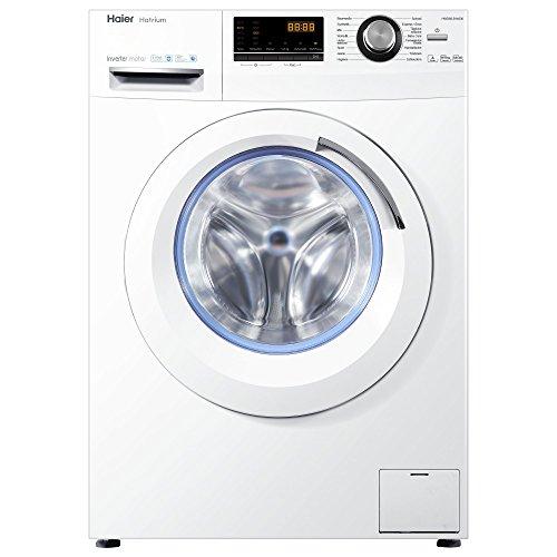 [Amazon Tagesdeal] Haier HWD80-B14636 Waschtrockner/A / 1080 kWh/Jahr /1400 UpM / 8 kg Waschen / 5kg Trocken/Endzeitvorwahl / AquaProtect