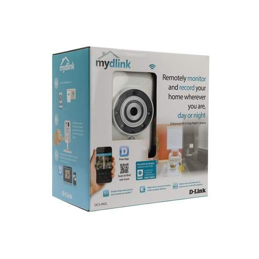 D-Link Tag&Nacht Kamera wireless