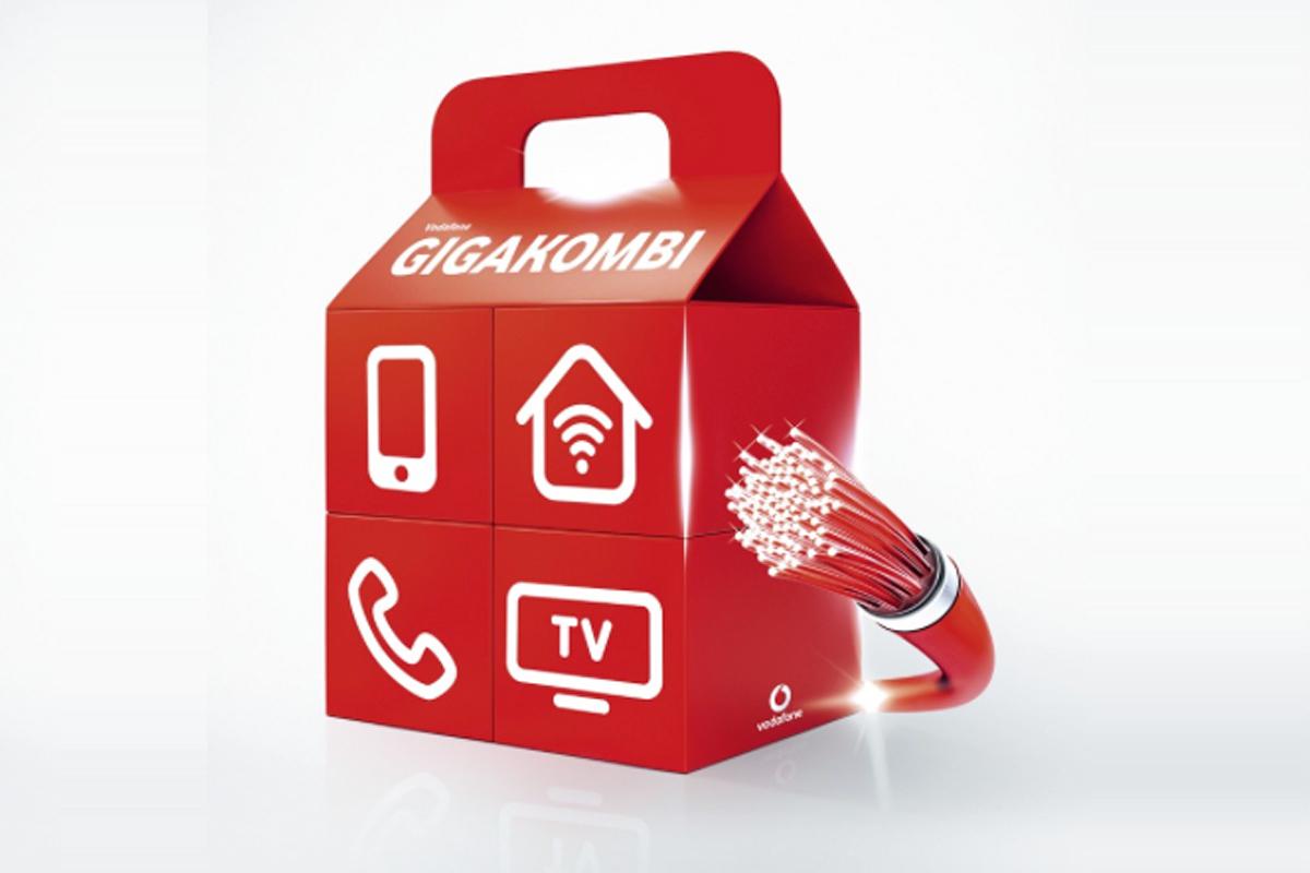 Vodafone Mobilfunkvertrag All Net u. SMS Flat mit 25GB Gigakombi Young L Tarif 24 Monate Laufzeit