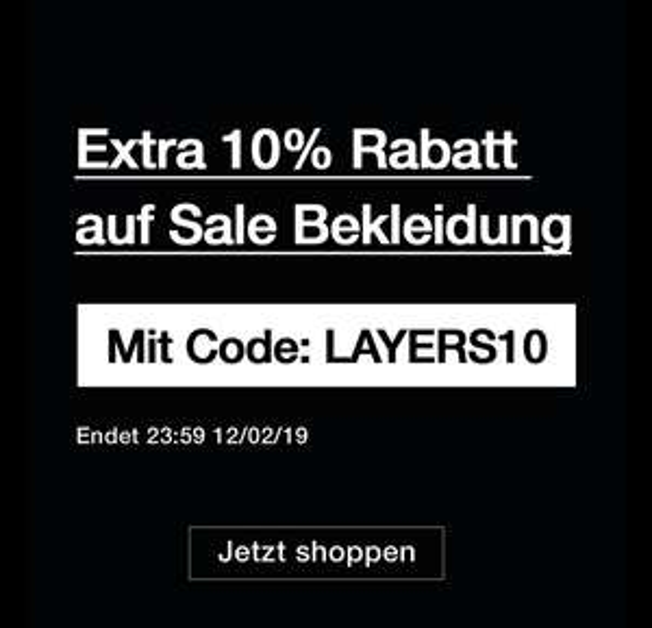 10% Extra Rabatt im size? Sale (Bekleidung)