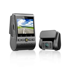 Top Budget Dashcam-Set: Viofo A129 Duo Dual Channel 5GHz Wi-Fi Full HD Car Dash Cam Dual Camera DVR with GPS-vorn&hinten mit GPS