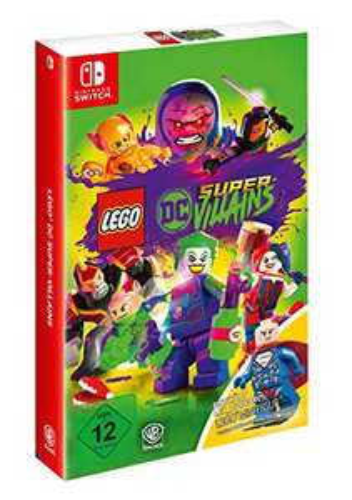 LEGO DC Super-Villains Minifigur Edition (Switch) für 39,97€ (Amazon)