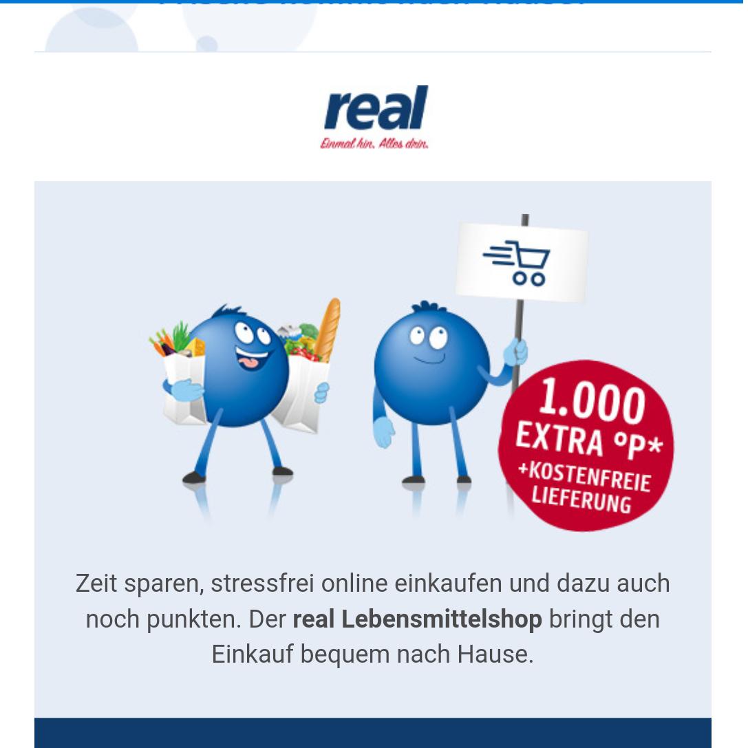 real lebensmittelshop extra punkte payback und kostenfreie lieferung mbw 60 euro. Black Bedroom Furniture Sets. Home Design Ideas