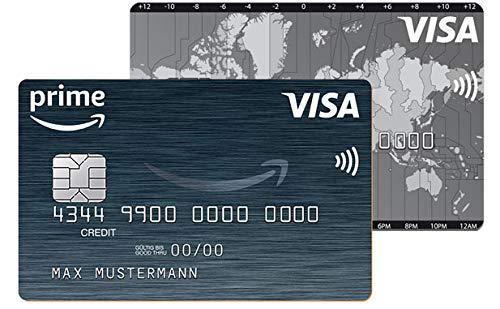 Amazon Visa Karte mit 70€ Startguthaben für Neukunden & kostenloser Haupt- & Partnerkarte [Amazon Prime]