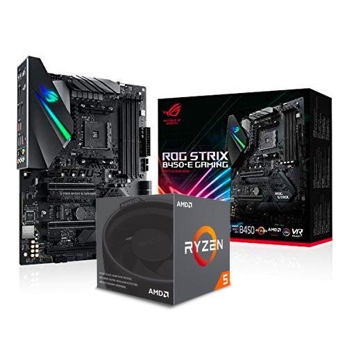 Ryzen 5 2600x + Asus Rog Strix B450-E Gaming (mit WiFi & Bluetooth)