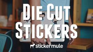 [Stickermule] | Custom  die cut stickers 10stk | 1€