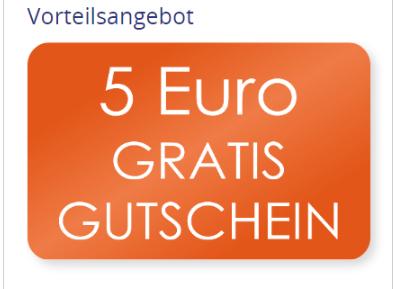 5 Euro Gutscheine über Cadooz bekommen pro 50 Euro-Gutscheinkauf