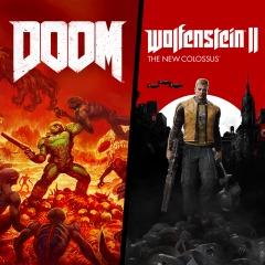 Doom + Wolfenstein II: The New Colossus Bundle (PS4) für 19,99€ (PSN Store)