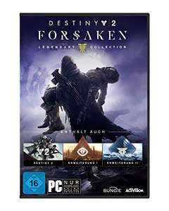 Destiny 2: Forsaken - Legendary Collection (PC) für 24,99€ (Amazon Prime & Media Markt)