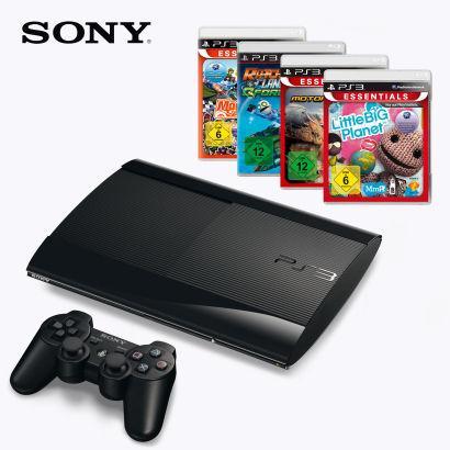PS3 SuperSlim + 4 Spiele für 249,- EUR bei Aldi Nord