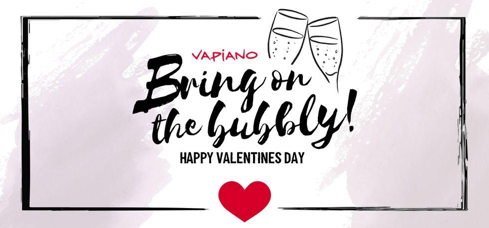 Vapiano: Am 14.02. je ein Glas Sekt kostenlos für Paare (MBW 2x6 Euro)